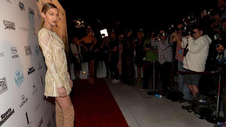 Golden Girl Gigi Hadid