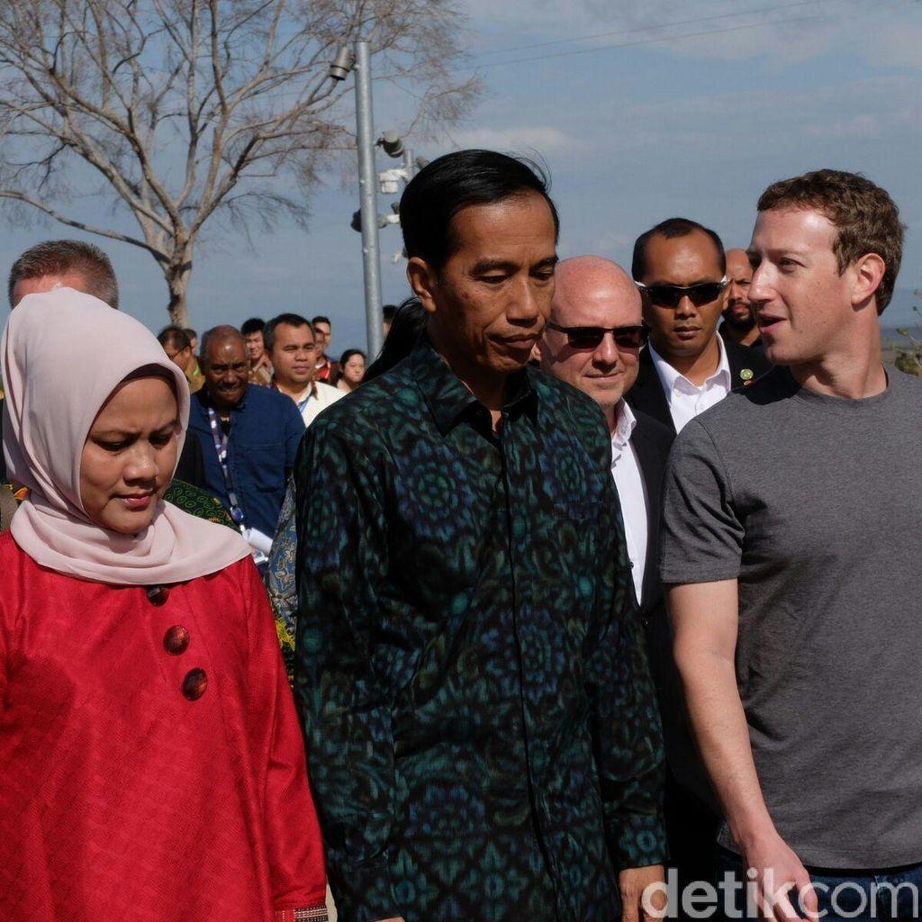 Jokowi Kenang Saat Main Pingpong Pakai VR dengan Bos Facebook