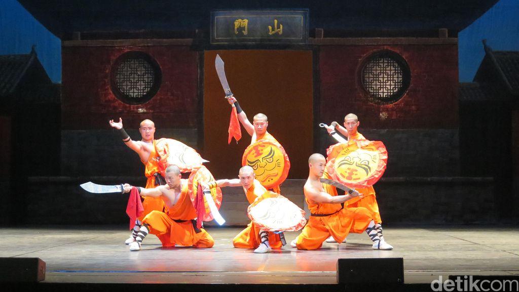 Yuk, Intip Cuplikan Pertunjukan Shaolin Warriors di Jakarta!