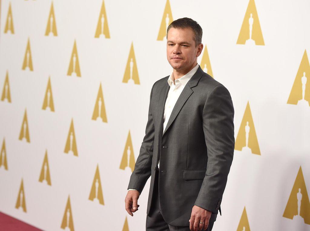 Matt Damon Buka Suara Soal Kasus Pelecehan Harvey Weinstein