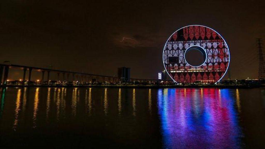 Galeri Foto: China Larang Pembangunan Gedung Berarsitektur Ganjil
