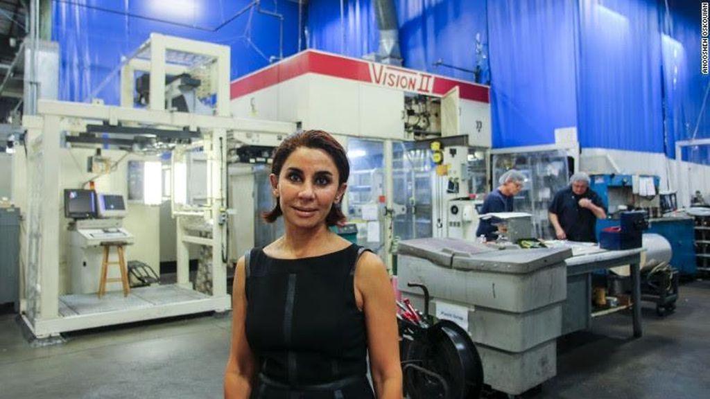 Kisah Sukses Wanita Iran yang Jadi Miliuner di AS