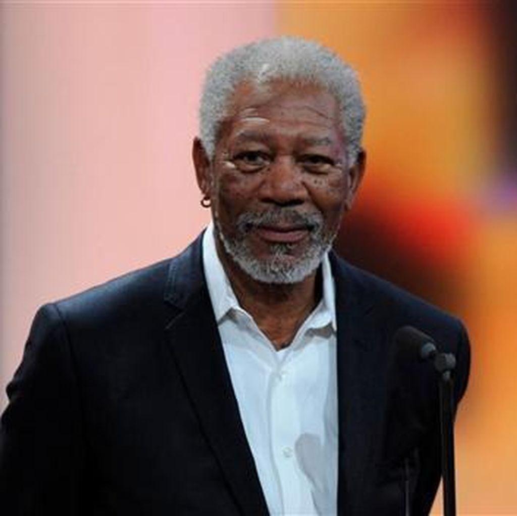 Morgan Freeman Bakal Perankan Colin Powel di Film Biopik