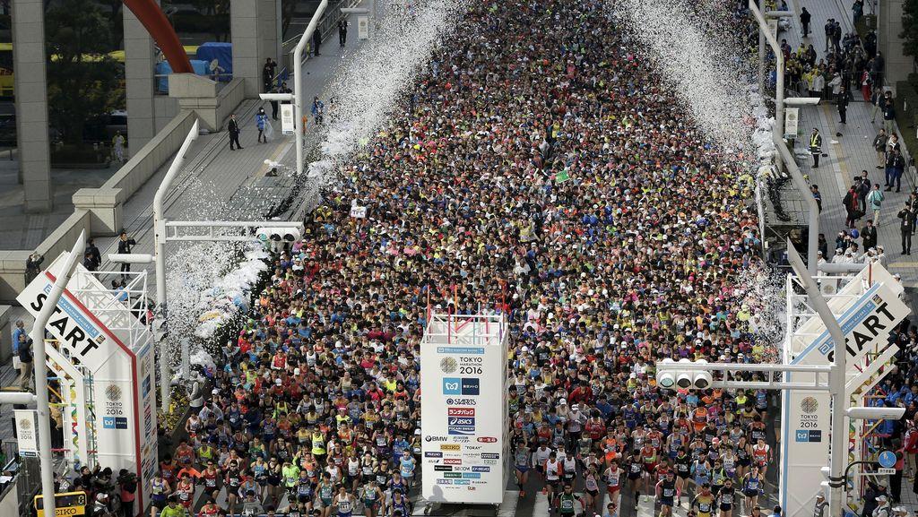 30.000 Orang Ikuti Tokyo Marathon
