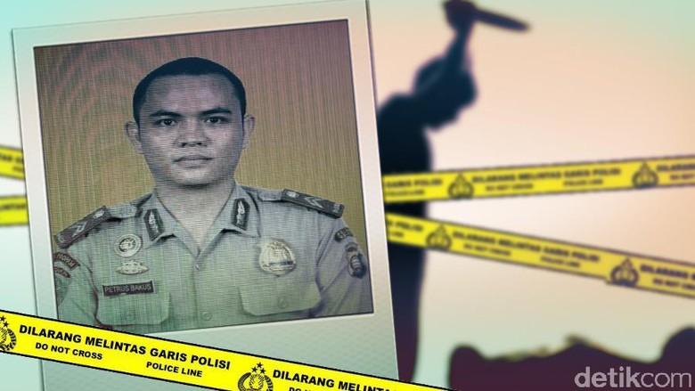 Brigadir Petrus yang Mutilasi 2 Anaknya Raih Nilai Tertinggi Saat Tes Masuk Polisi
