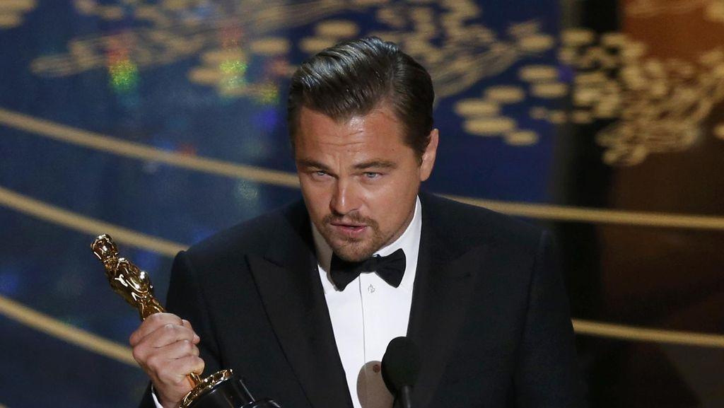 Leo DiCaprio Pecah Telur, Rekor Selfie Ellen pun Tumbang