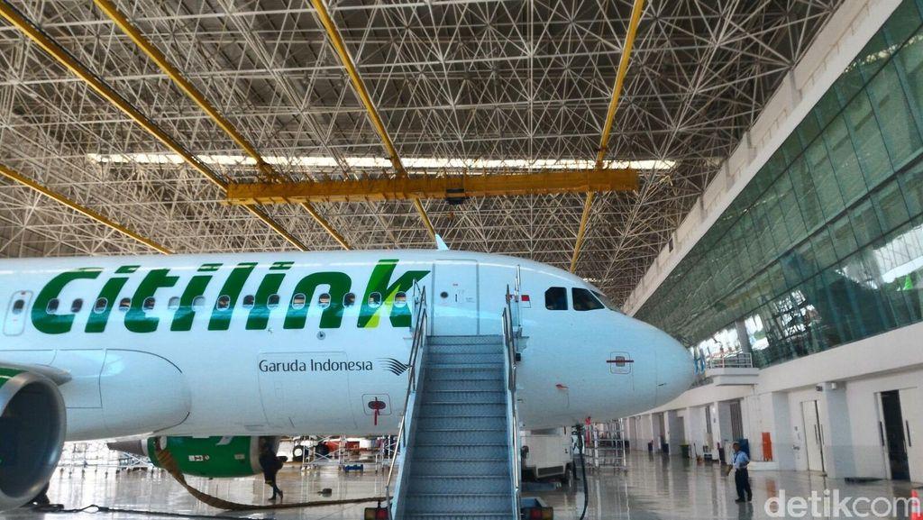 Ngurah Rai Tutup, 30 Penerbangan Citilink ke Bali Dibatalkan