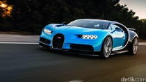 Minat Punya Bugatti Chiron? Ganti Ban Saja Rp 1 Miliar