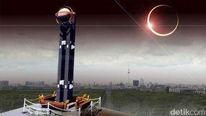Astronom Amatir di Palu Fokus Lihat Bailys Beads dan Korona