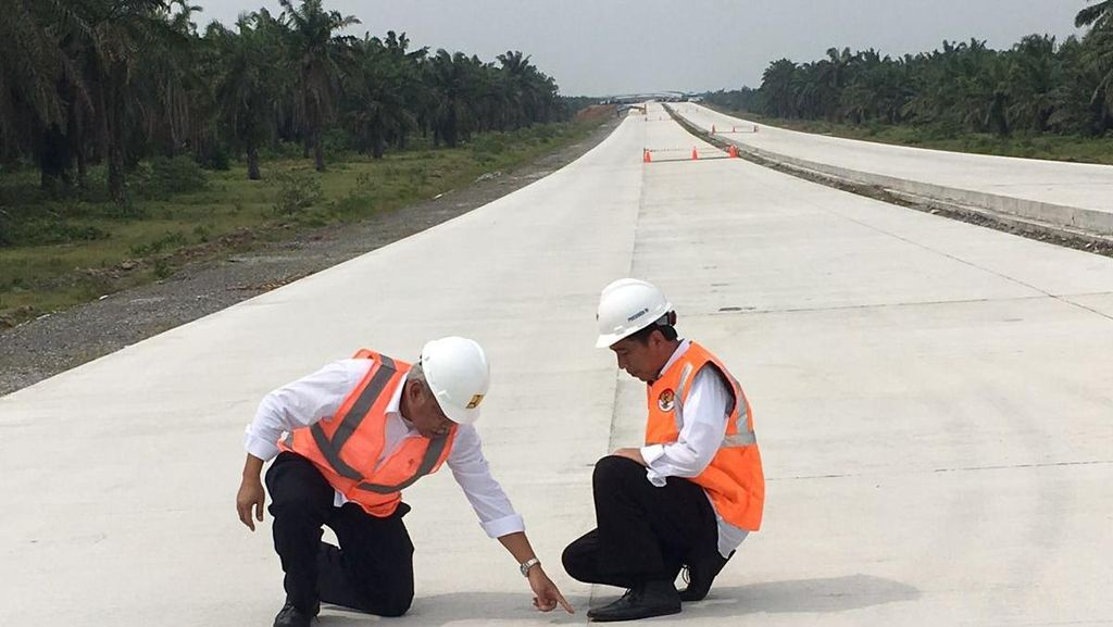 Diresmikan Jokowi, 3 Tol di Sumatera Ini Bakal Dibuka Gratis Seminggu