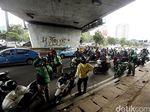 Pemotor Diimbau Tak Berteduh di Bawah JPO dan Underpass Saat Hujan