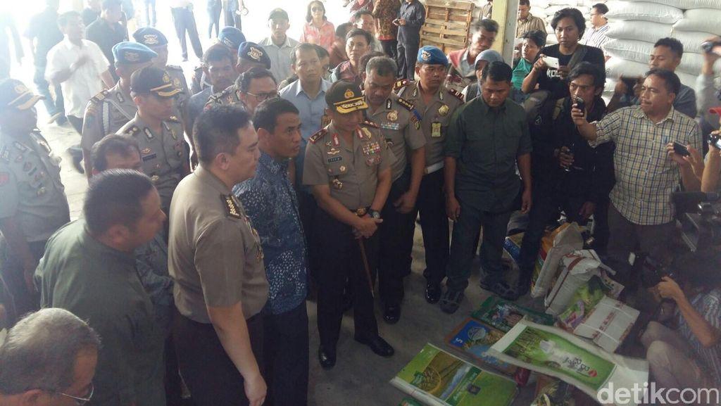Polisi Masih Rahasiakan Nama Pemasok Beras Ilegal di Pantai Indah Kapuk