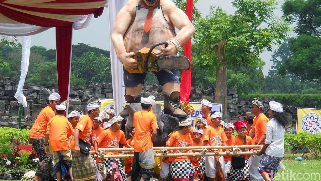 Tawur Agung Sambut Tahun Baru Saka 1938 di Prambanan