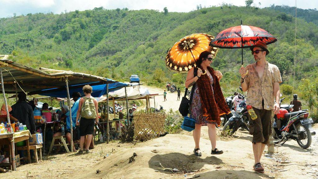 Ssst... Ada Pesta Gerhana Khusus Bule di Bukit Soeharto