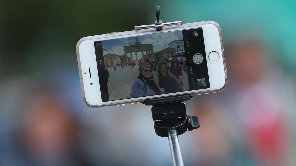 Serunya Foto dengan Background Seni 3D di Mojokerto