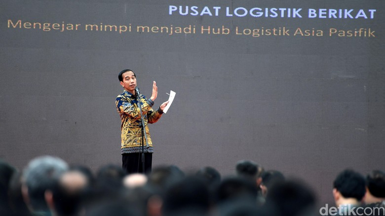 76 Gudang Raksasa Ciptaan Jokowi Sudah Beroperasi
