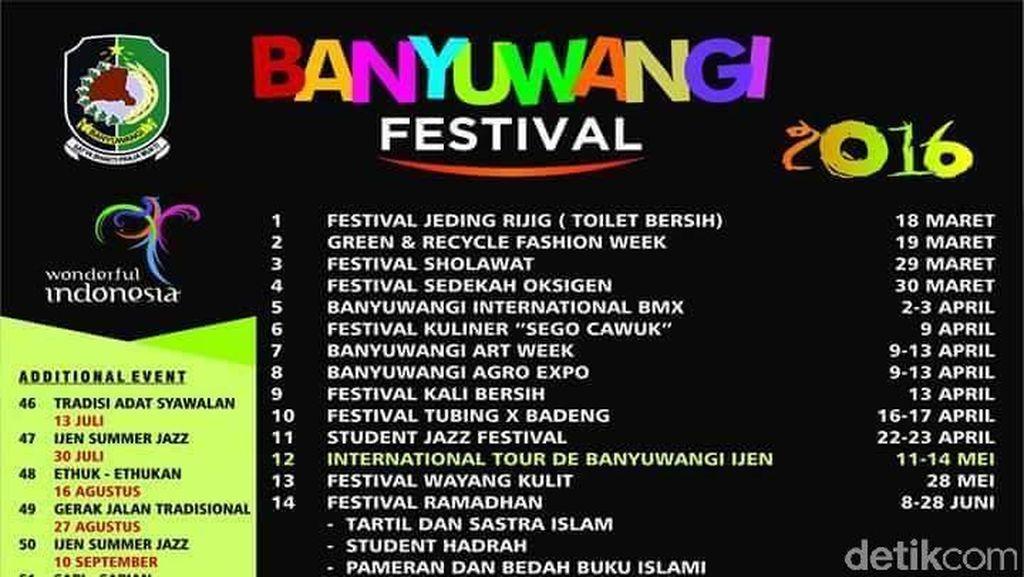 Banyuwangi Festival 2016 Diluncurkan
