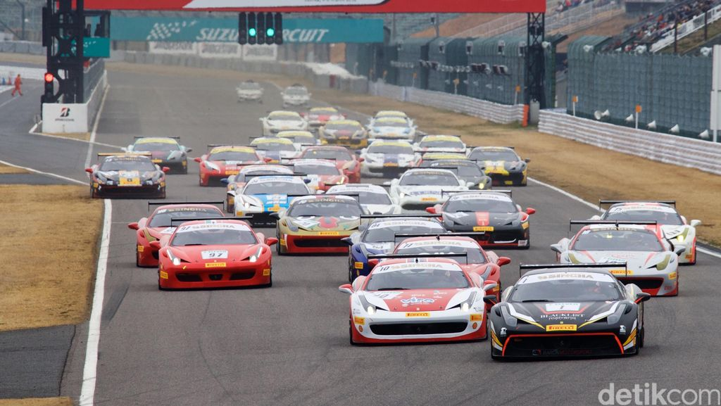 Indonesia Turunkan Lima Pebalap di Ferrari Challenge 2018