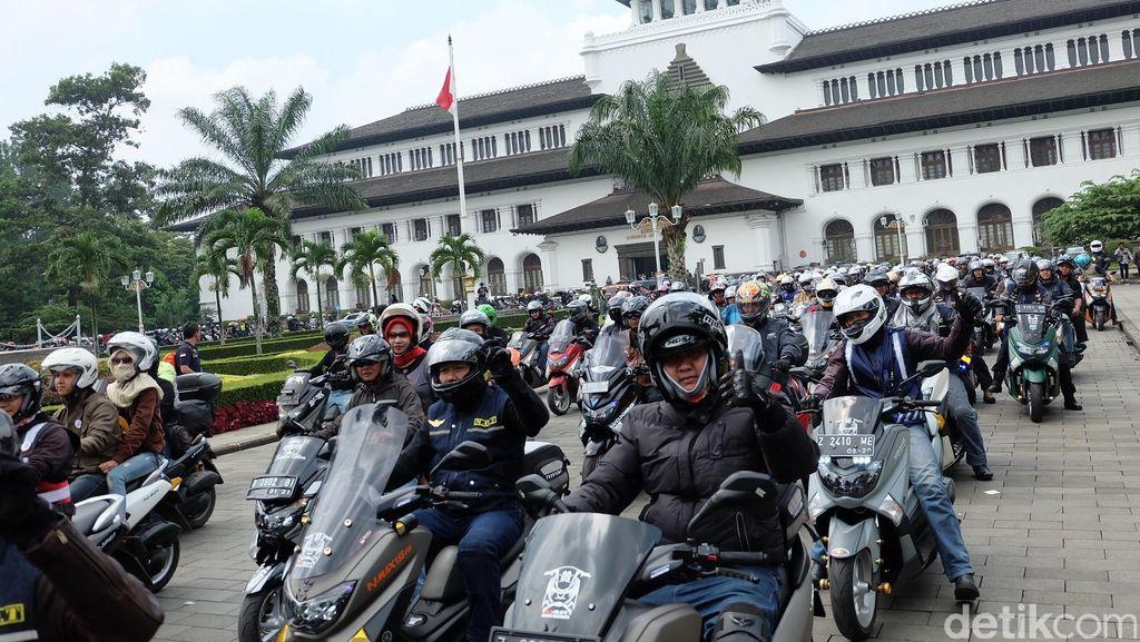 Komunitas NMAX Gelar Jambore Nasional di Bandung