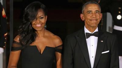Ucapan Obama di Hari Ulang Tahun Pernikahannya Bikin Melting