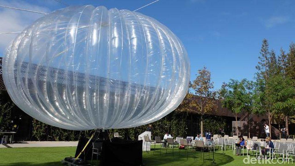 Balon Google Kantongi Izin Terbang di Puerto Rico