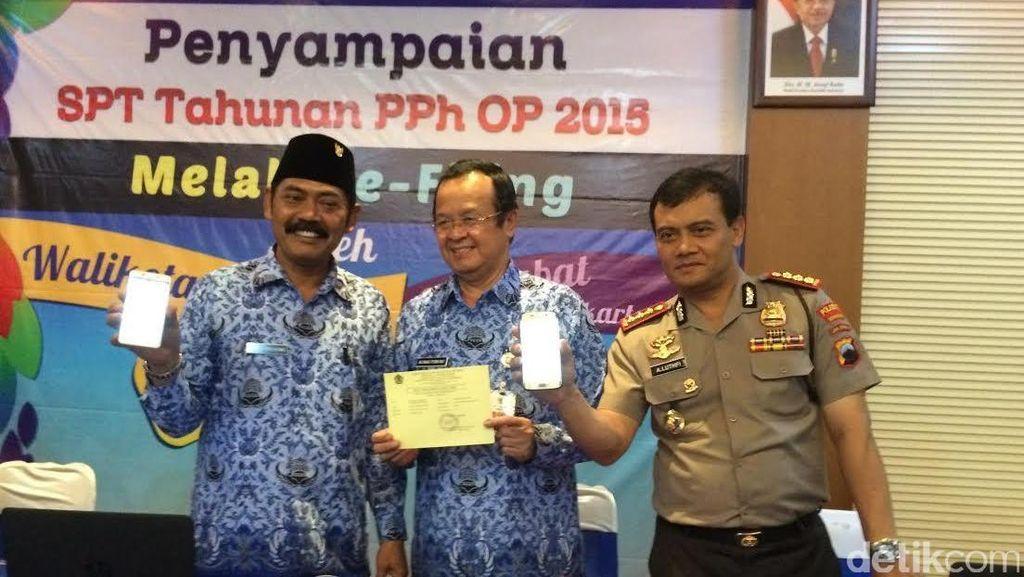 Muspika Surakarta Pelopori Pengisian SPT Pajak Online
