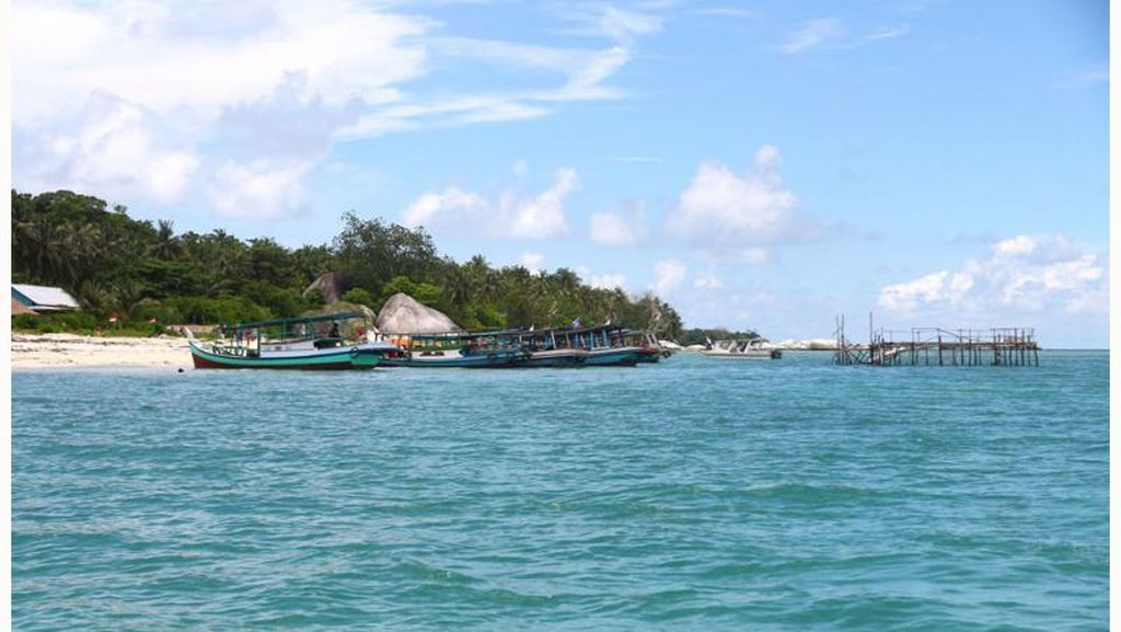 Nikmatnya Istirahat Siang di Pulau Kepayang