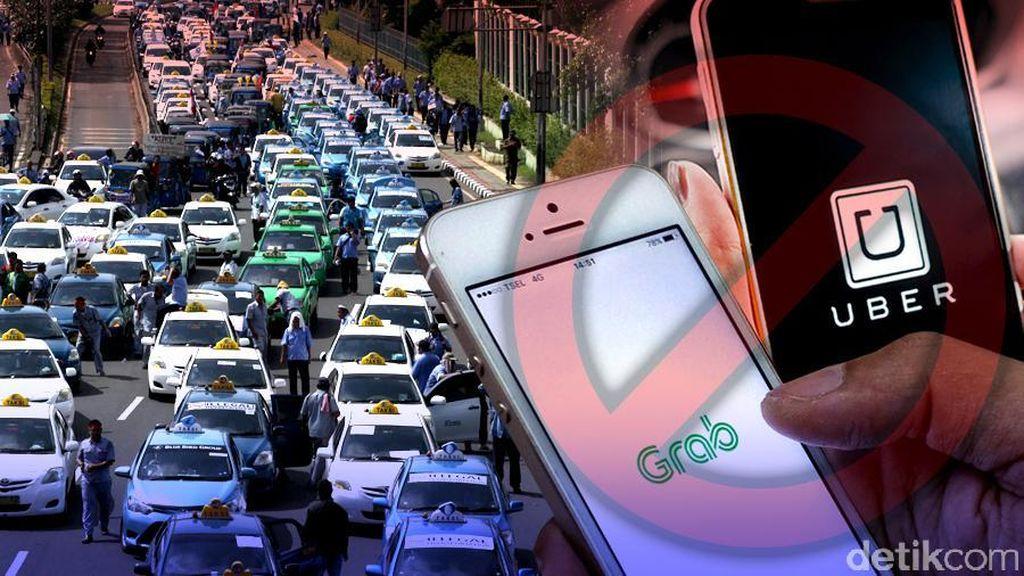 Kemenhub Nyatakan Uber dan GrabCar Status Quo