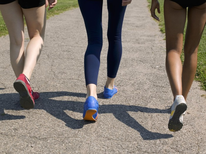 Ada beberapa faktor yang menyebabkan orang malas jalan kaki. Foto: Thinkstock