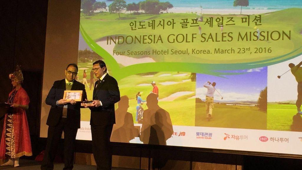 Indonesia Bidik Wisatawan Golf dari Korea Selatan