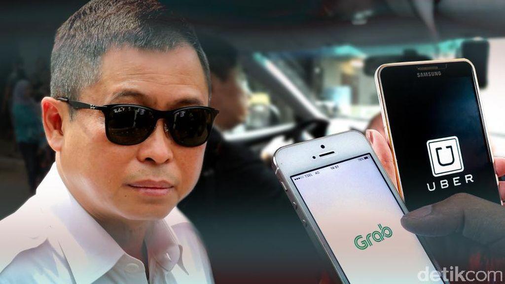 Menhub Jonan: Taksi Online Kami Beri Toleransi 6 Bulan