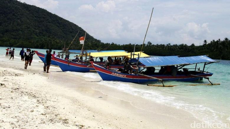 Foto: Pulau Pahawang (Agung Pambudhy/detikTravel)