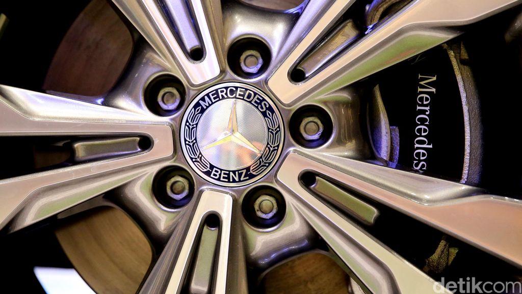 Masalah Airbag, Mercy Tarik Sejuta Mobil di Dunia