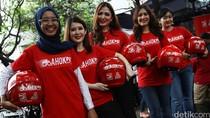 Berbagai Alasan Lady Bikers Dukung GoAhok Kumpulkan 1 Juta KTP untuk Ahok