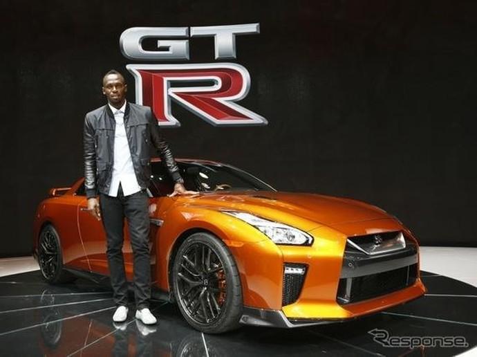 Usain Bolt dan Nissan GT-R