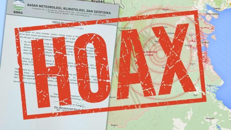 Banyak Hoax Usai Gempa, Pengamat: Yang Menyebarkan Orang Polos