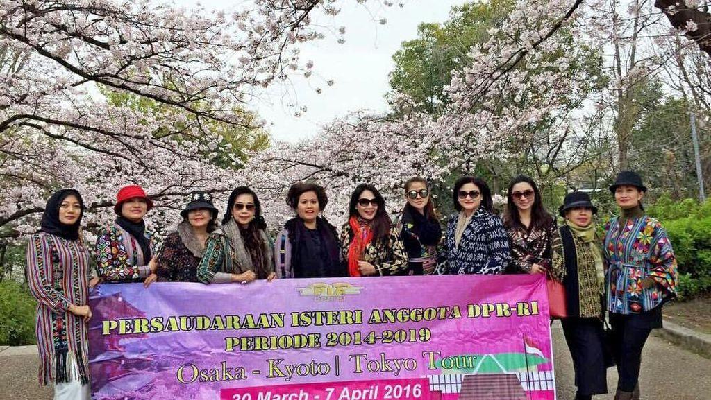 Anggota DPR F-PDIP: Kami Dicerca karena Istri Anggota DPR ke Jepang