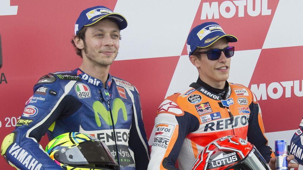 Dewasalah, Rossi dan Marquez!