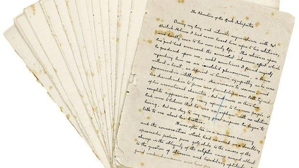 Manuskrip Sherlock Holmes Dijual Rp 5,6 Miliar!