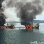 90 Kapal Maling Ikan Antre Ditenggelamkan Susi