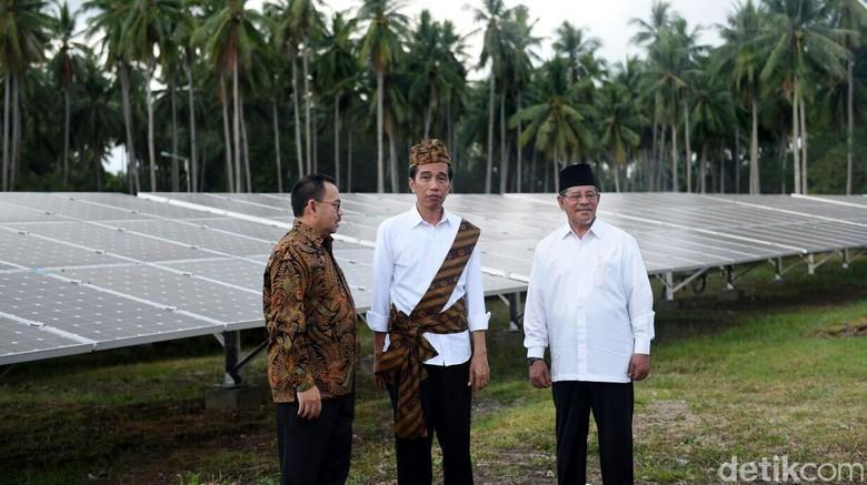 Jokowi Kesal Banyak PLTS Mangkrak, ESDM: Itu Proyek yang Dulu