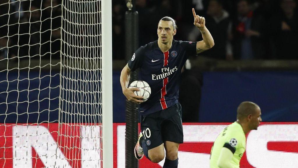 Ibrahimovic Sejajar dengan Andriy Shevchenko