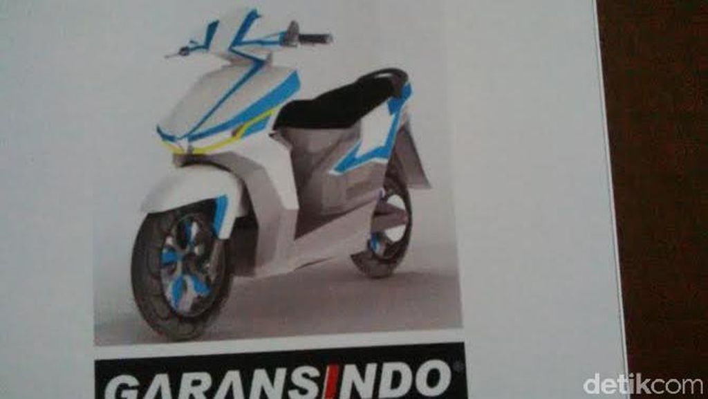 Gesits, Nama Motor Listrik ITS Garansindo