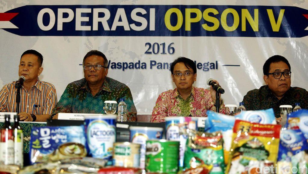 BPOM Amankan Produk Pangan Ilegal, 11 Persen Mengandung Bahan Berbahaya