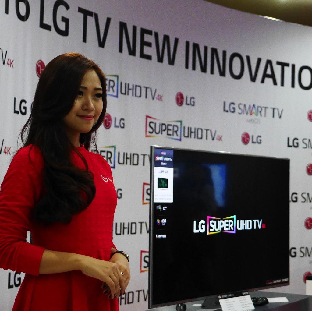 Tata Suara Bioskop Hadir di TV OLED LG