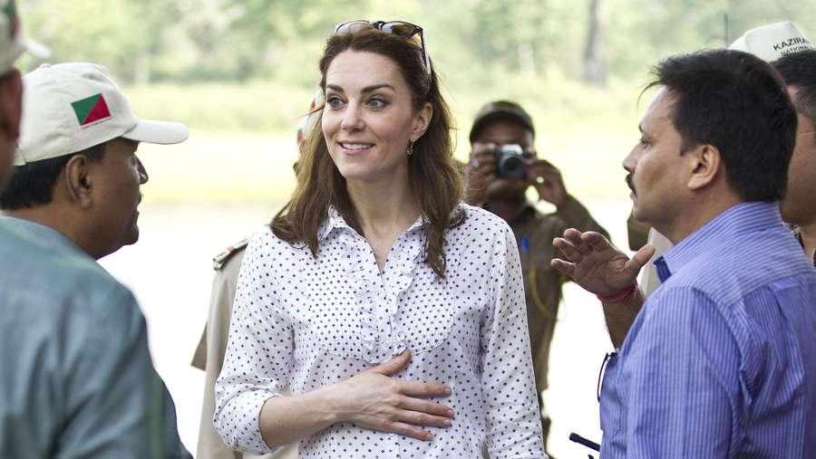 10 Penampilan Kate Middleton 4 Hari di India