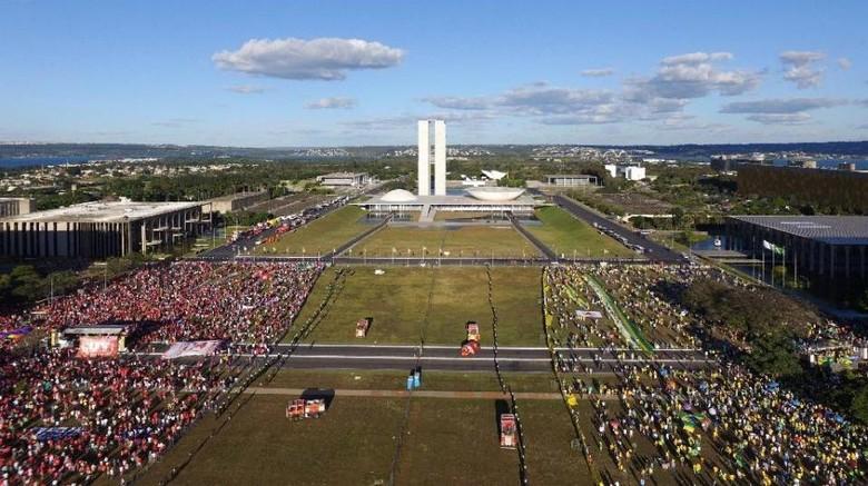 Gara-gara Skandal Korupsi dan Krisis Politik, Pengangguran di Brasil Makin Banyak