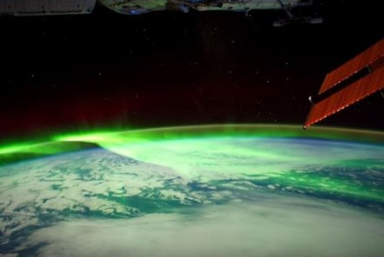 Video: Fenomena Cahaya Aurora Direkam dari Stasiun Luar Angkasa