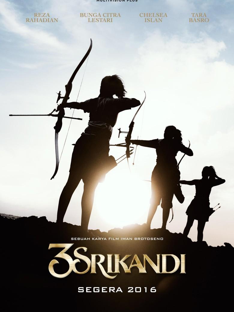 Kegagahan 3 Wanita Pemanah di Teaser Poster 3 Srikandi