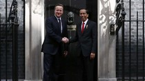 Presiden Jokowi Bertemu PM dan Parlemen Inggris
